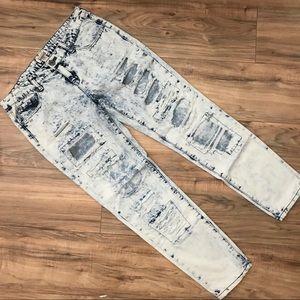 Mudd acid wash distressed jeans!
